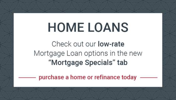 see new mortgage specials tab for rates