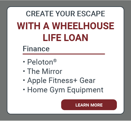Life Loan Offer for Home Gyms