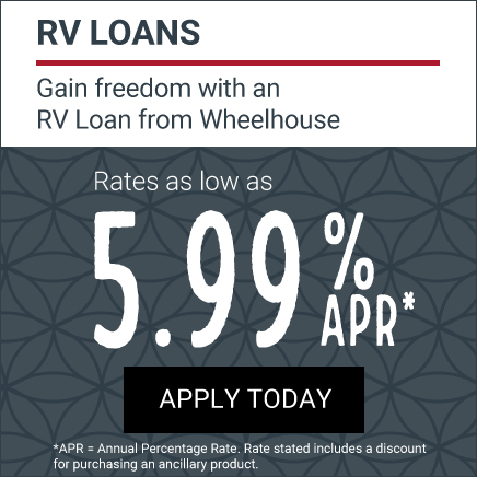 RV Loan at 5.99% with insurance purchase