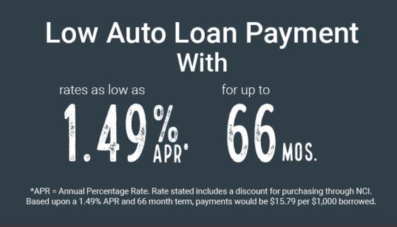Auto Loan Offer