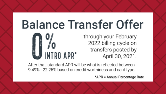 limited-time balance transfer offer