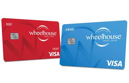 debit and rewards card
