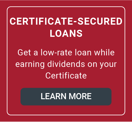Certificate-Secured Loans Offer