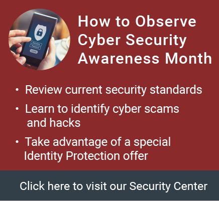 Observe Cyber Security Awareness Month