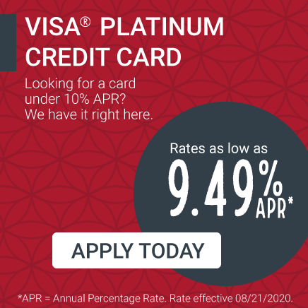 Low rate credit card offer