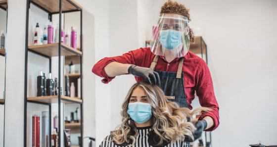 salon hair styling business
