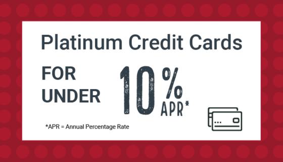 Credit Cards under 10 percent APR offer