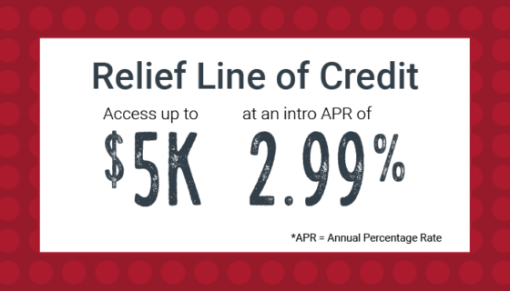 Relief Line of Credit Offer