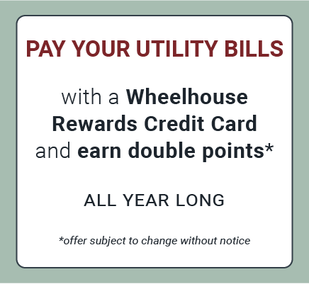 Double Points on Utility Bills