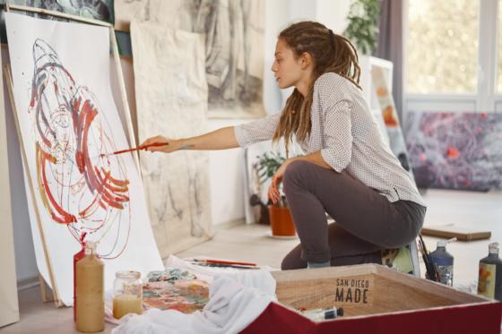 Inspired-Checking-Painter